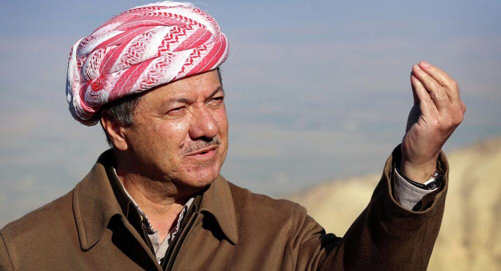 Leader del Kurdistan iracheno Masoud Barzani