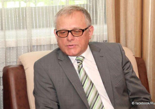 Ambasciatore della Russia in Corea del Nord Alexander Matsegora