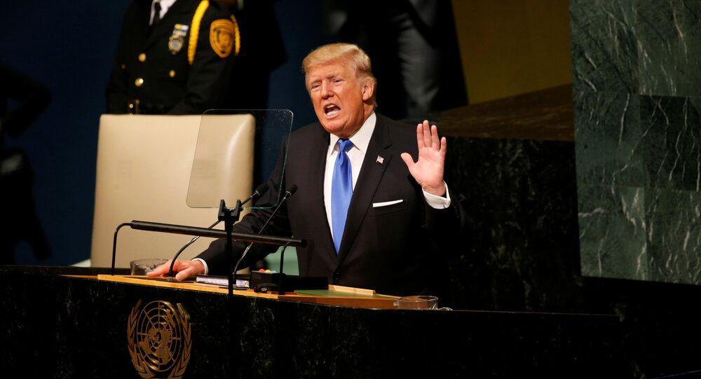 Donald Trump interviene all'ONU