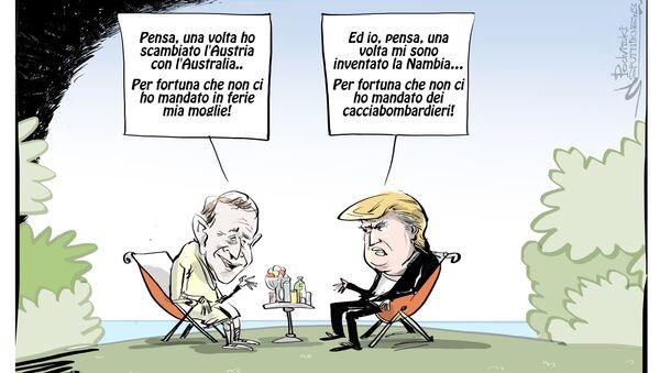 Trump si invita un nuovo paese - Sputnik Italia