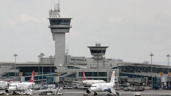 File Photo of  Ataturk Airport in Turkey - Sputnik Italia