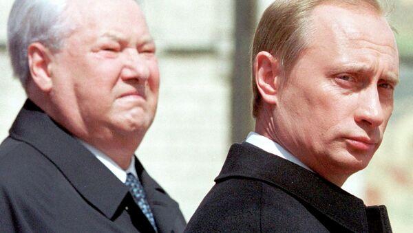 Boris Yeltsin e Vladimir Putin - Sputnik Italia
