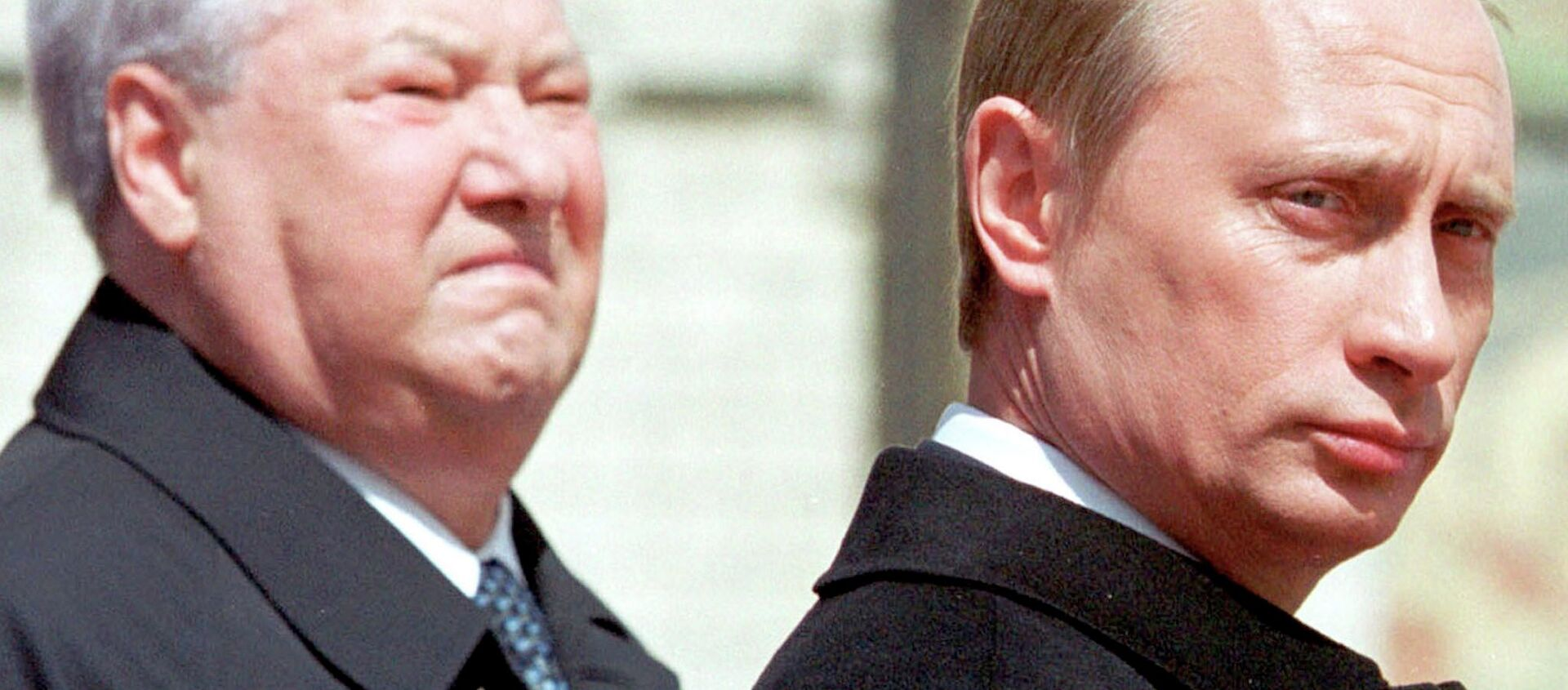 Boris Yeltsin e Vladimir Putin - Sputnik Italia, 1920, 26.12.2019