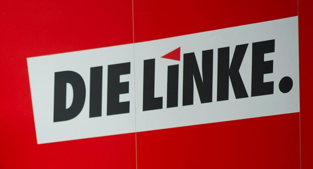 Die Linke party logo