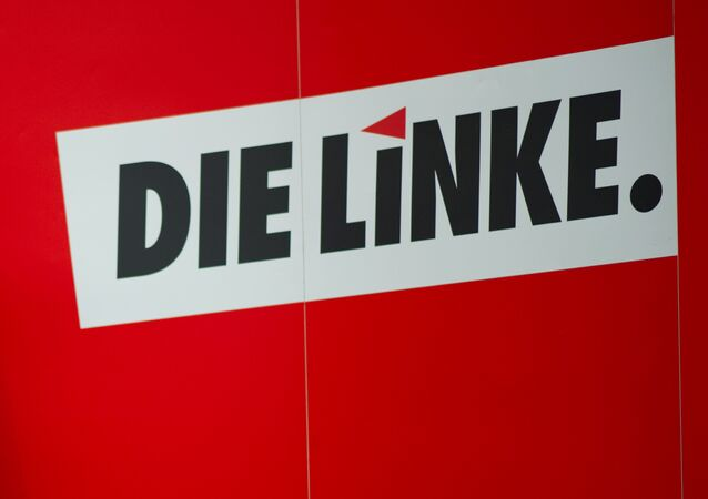 Die Linke party logo