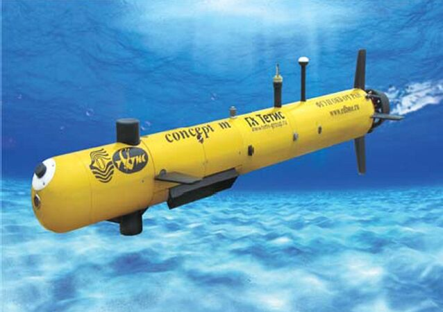 Concept di un drone sottomarino