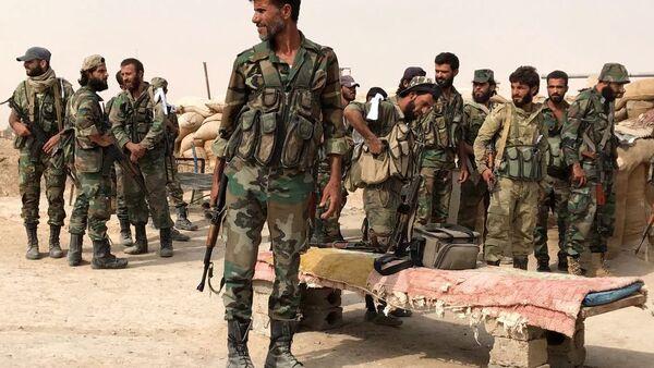 L'esercito siriano - Sputnik Italia