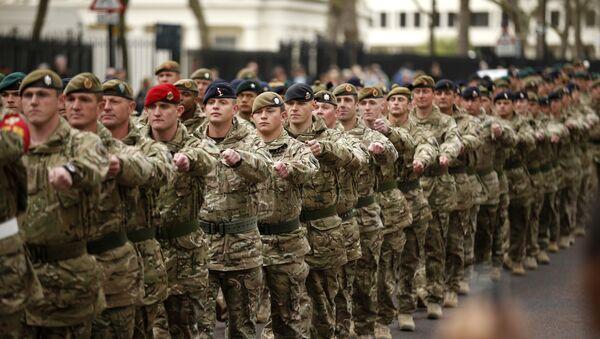 Soldati britannici - Sputnik Italia