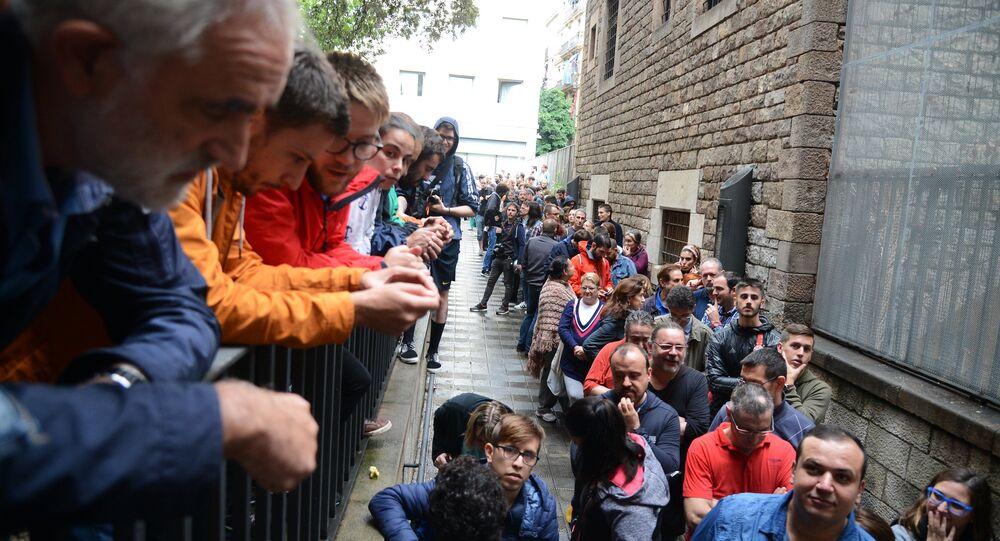 Referendum in Catalogna