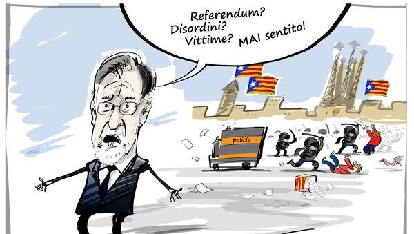 Referendum in Catalogna - Sputnik Italia