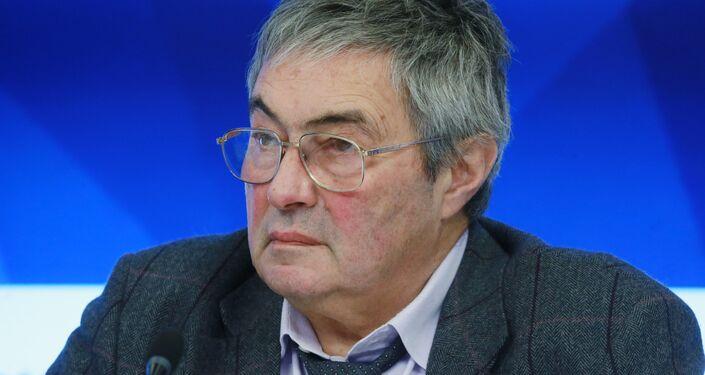 Lev Zeleny, direttore dell'Istituto studi spaziali, vice presidente dell'Academia russa delle scienze