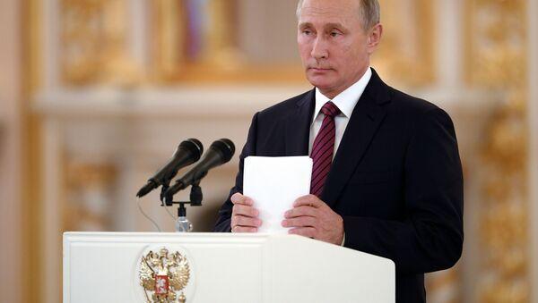 Президент России Владимир Путин - Sputnik Italia