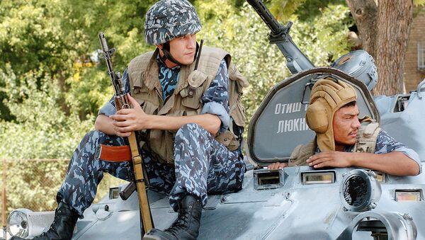 I soldati uzbeki - Sputnik Italia