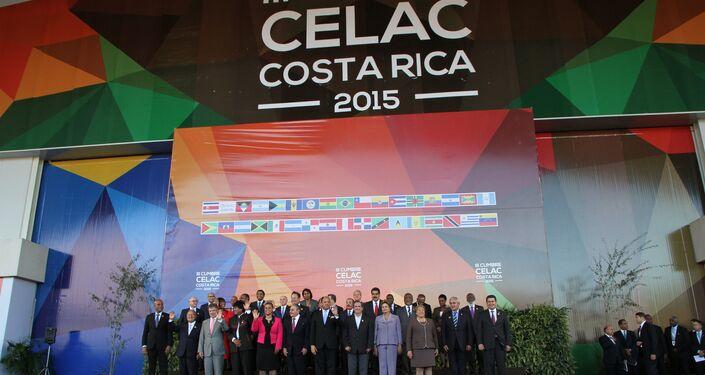 Il vertice CELAC in Costa Rica del 2015