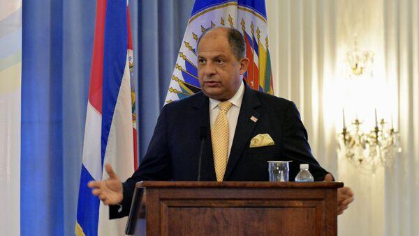 Il presidente della Costa Rica Luis Guillermo Solis - Sputnik Italia