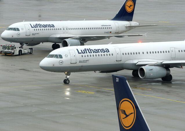 Aerei di Lufthansa