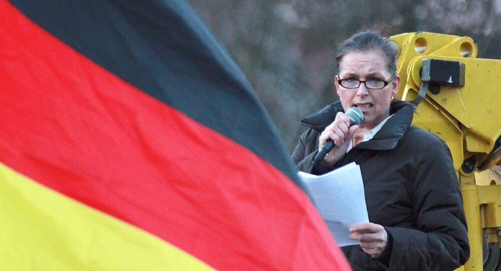 Tatjana Festerling, candidate del partito Pegida