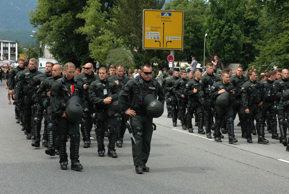Garmisch blindata per il G7.