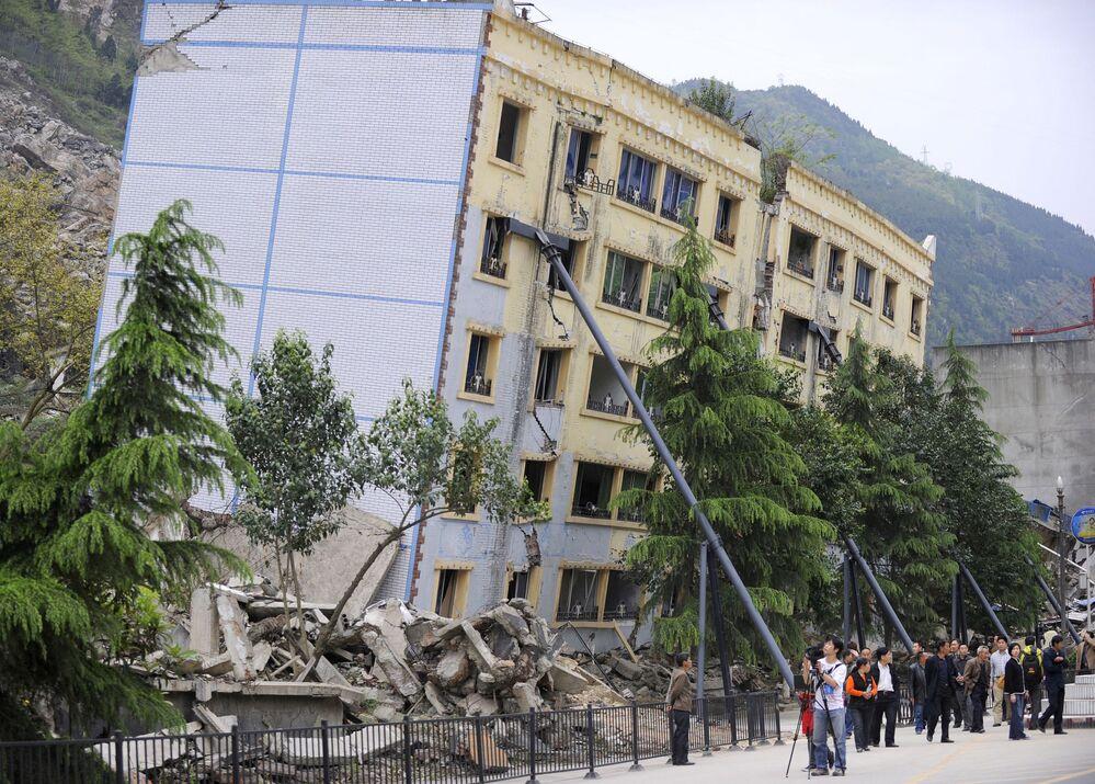 Cina, la città Baichuan.
