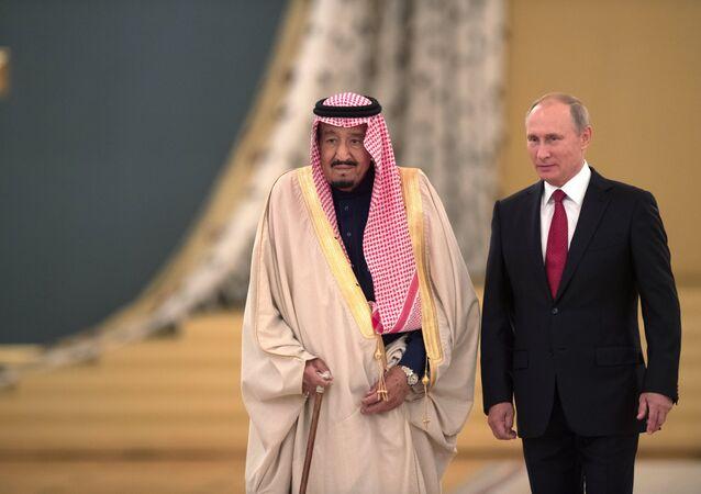 I colloqui tra il presidente della Federazione, Vladimir Putin, e il re saudita Salman bin Abdulaziz Al Saud