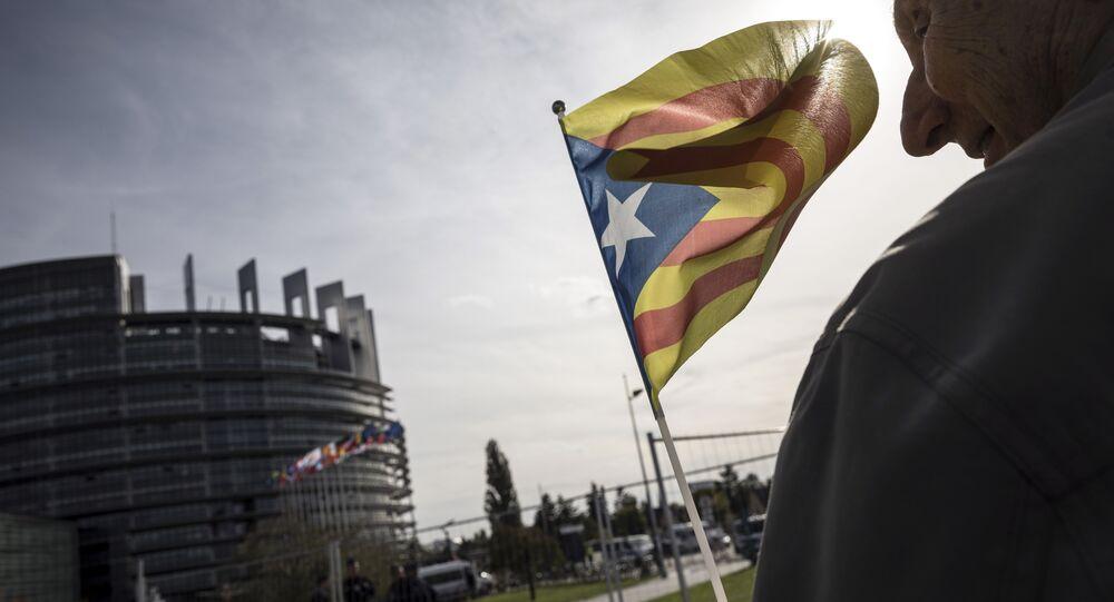 La bandiera catalana