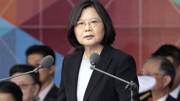 Taiwan's President Tsai Ing-wen (File) - Sputnik Italia