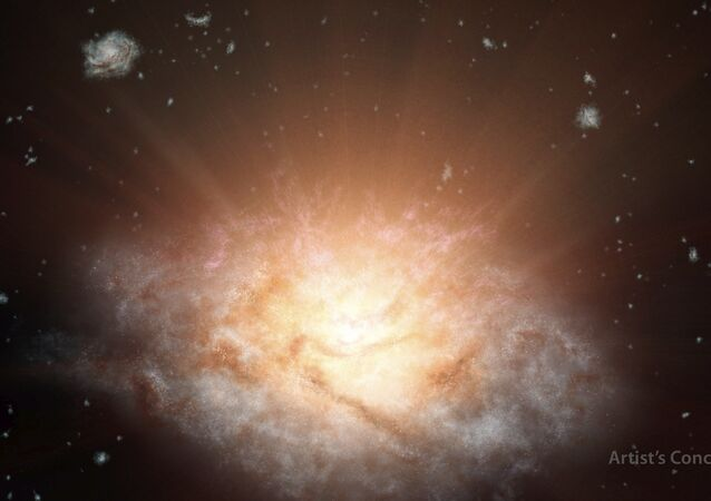 The most luminous galaxy in the universe