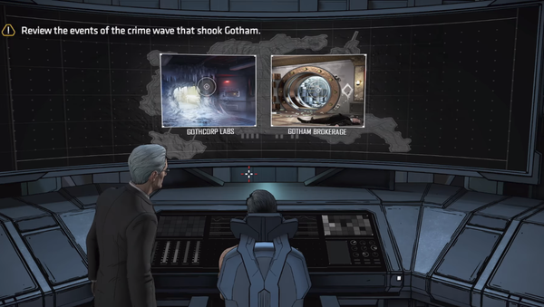 A screenshot from Batman: The Enemy Within, the episodic video game from developer Telltale Games. This scene, from Episode Two: The Pact, depicts the corpse of murdered Russian ambassador to Turkey Andrei Karlov. - Sputnik Italia