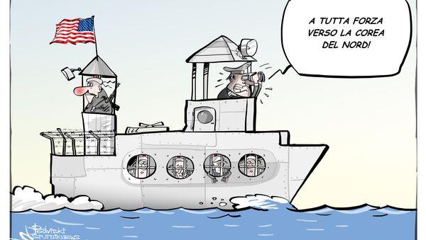 Marinai Usa: la nostra nave è un carcere inutile contro la Corea del Nord - Sputnik Italia