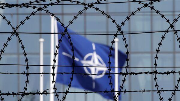 La bandiera NATO - Sputnik Italia