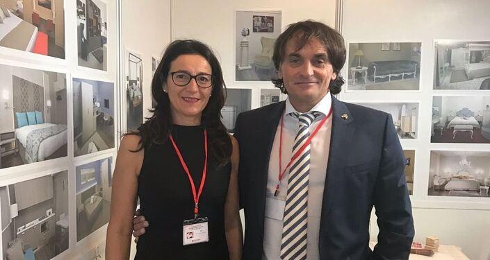 Lucio e Barbara Chiavegato
