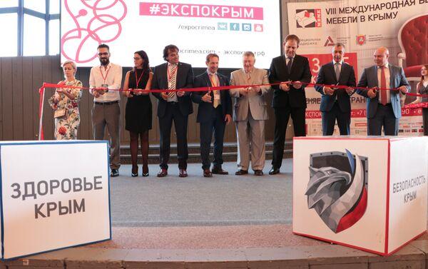 """Inaugurazione """"Salone internazionale del mobile"""" a Yalta - Sputnik Italia"""