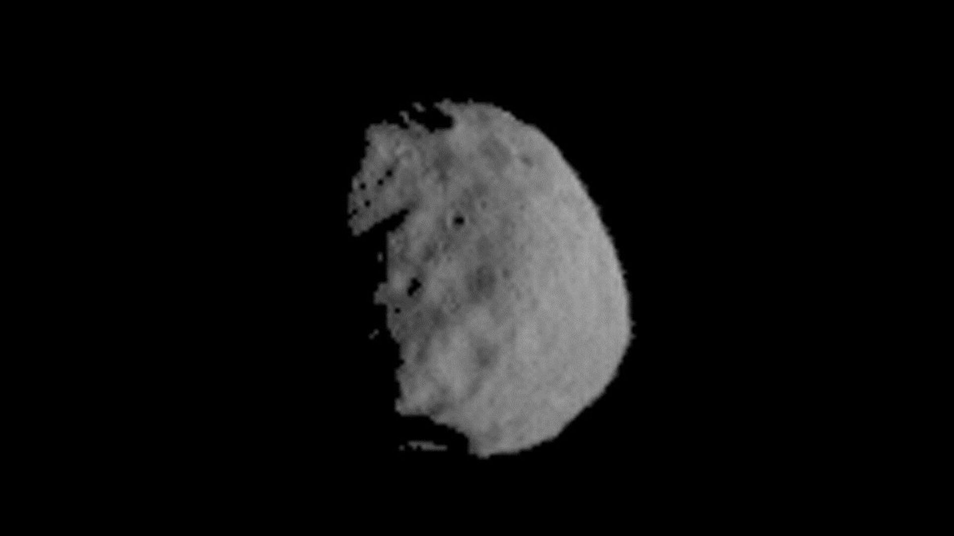 This image of Phobos is one product of the first pointing at that Martian moon by the THEMIS camera on NASA's Mars Odyssey orbiter. - Sputnik Italia, 1920, 30.06.2021
