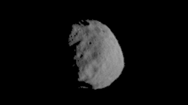 This image of Phobos is one product of the first pointing at that Martian moon by the THEMIS camera on NASA's Mars Odyssey orbiter. - Sputnik Italia