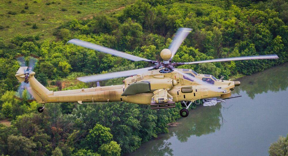 Elicottero Mi-28UB