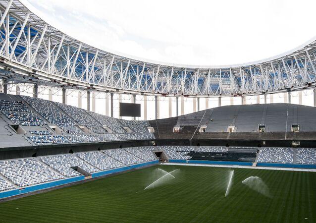 Lo stadio di Nizhny Novgorod per i Mondiali del 2018