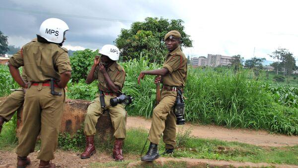 Poliziotti in Malawi - Sputnik Italia