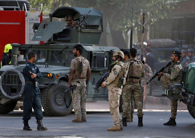Forze di sicurezza afgane