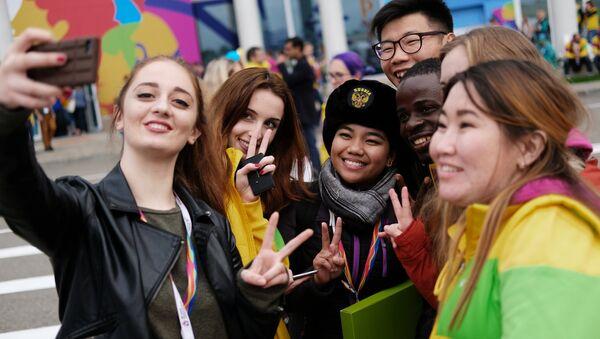 19° Festival Mondiale della Gioventù e degli Studenti a Sochi - Sputnik Italia