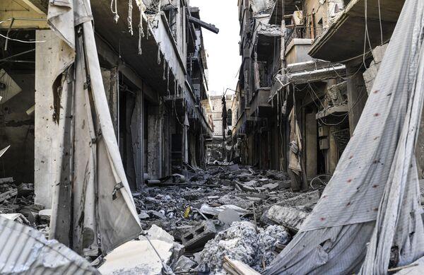 Le rovine di Raqqa - Sputnik Italia