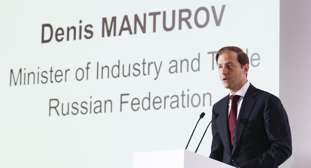 Denis Manturov, Ministro dell'industria della Russia.