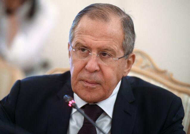 Ministro degli Esteri russo Sergey Lavrov