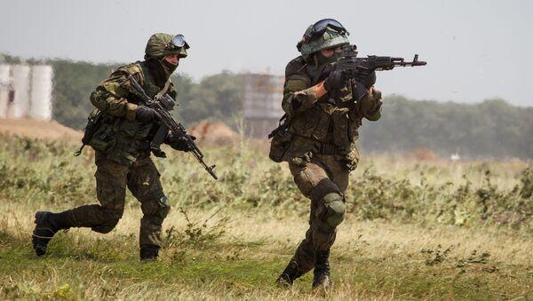 Сотрудники соединения специального назначения во время совместных тактико-специальных учений в Краснодарском крае - Sputnik Italia