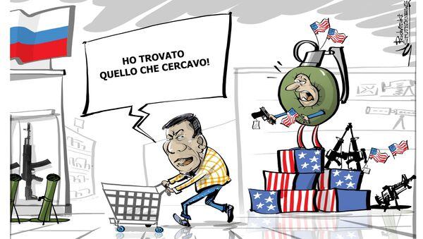 Le Filippine comprano armi dalla Russia - Sputnik Italia