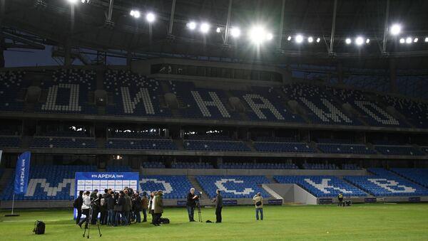 Una foto della presentazione del nuovo stadio della Dynamo Mosca - Sputnik Italia