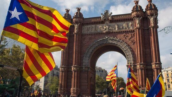 Dimostrazioni a Barcellona - Sputnik Italia