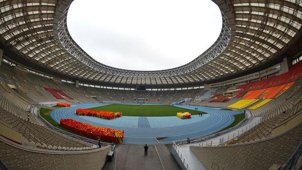 Lo stadio Luzhniki dove si svolgerà la finale del Mondiale 2018 - Sputnik Italia