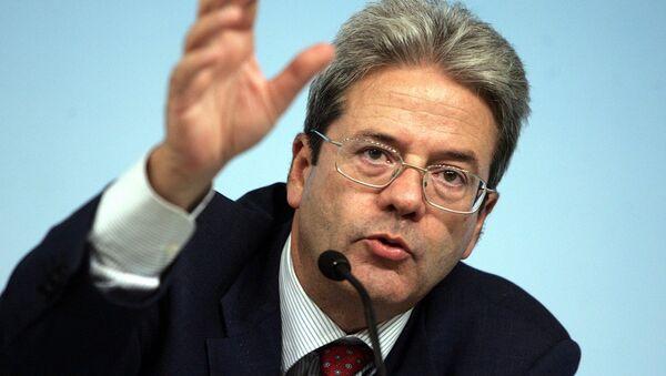 Paolo Gentiloni, ministro degli esteri italiano - Sputnik Italia