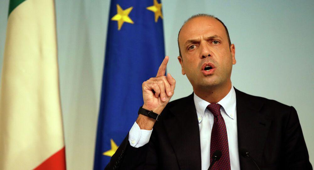Ministro degli Interni Angelino Alfano
