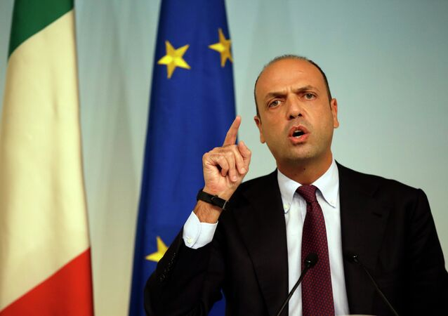 Ministro degli Esteri Angelino Alfano